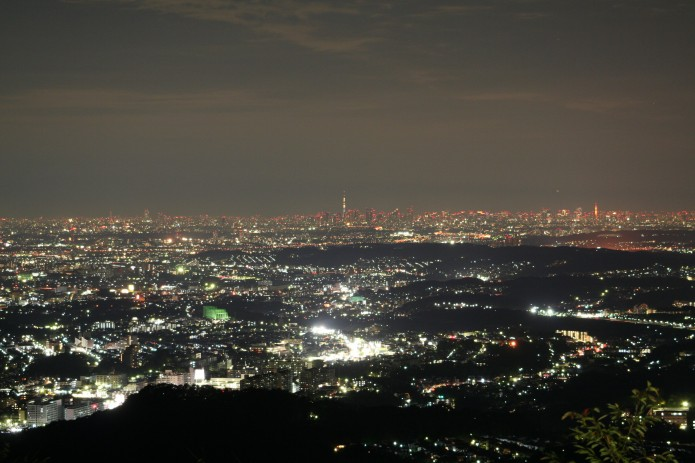 スカイツリー夜景
