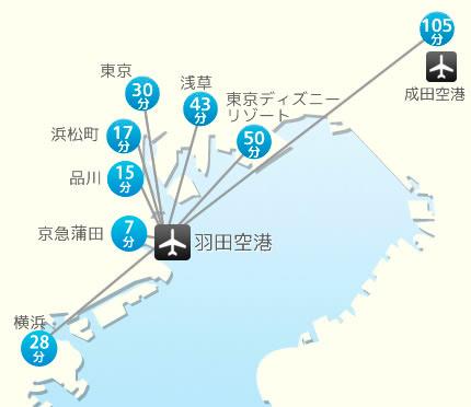 羽田機場如何到東京市區教學。(東京單軌電車 京濱急行電鐵 利木津巴士) | 林氏璧和美狐團三狐的小天地